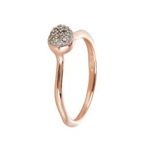 Monica Vinader Siren Diamond Small Stack Ring