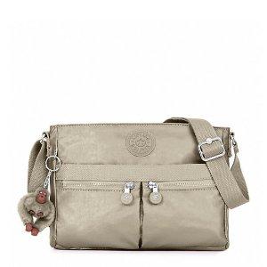 Angie Metallic Crossbody Bag
