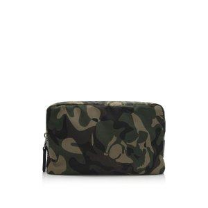 Alexander McQueen New Camouflage Wash Bag