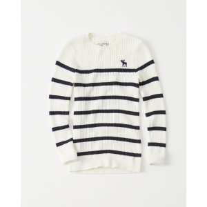 girls striped pullover sweater   girls clearance   Abercrombie.com