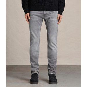 ALLSAINTS US: Mens Goree Iggy Jeans (Grey)