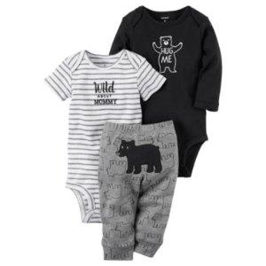 Carter's Little Baby Basics Boy Turn-Me-Around Set - JCPenney