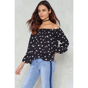 Reaching Out Star Top   Shop Clothes at Nasty Gal!