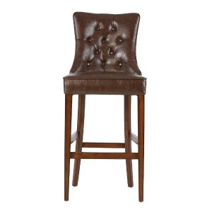 Home Decorators Collection Rebecca 31 in. Brown Cushioned Bar Stool-1981100740 - The Home Depot