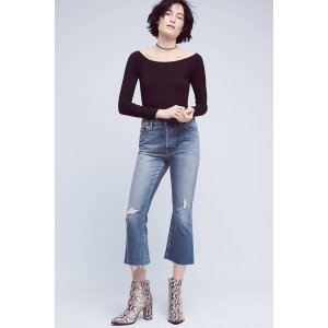 Mother Nomad High-Rise Kick Flare Jeans | Anthropologie