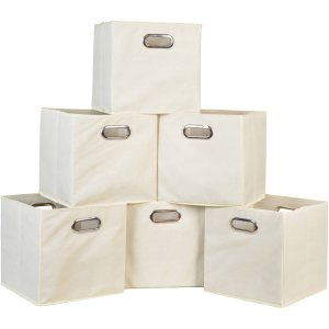 Niche Cubo Foldable Fabric Storage Bin, Set of 6