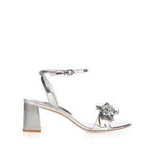 Lilico patent-leather block-heel sandals | Sophia Webster