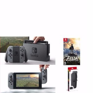 $449.96Nintendo Switch with Extra Joy-Con Case and Screen Protector, Legend of Zelda
