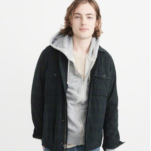 50% OFFAbercrombie & Fitch Men's Jackets Limited Time Sale