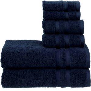 Mainstays Performance Bath Towel 6-Piece Set