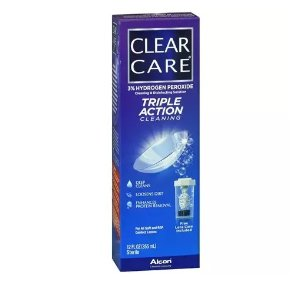 Clear Care Triple Action Cleaning & Disinfecting Solution 12.0 fl oz