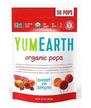 $5.15 YumEarth Organic Lollipops, 12.3 Ounce Bag