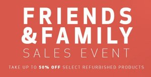 Up to 50% Off!Canon Friends & Family Sales Event