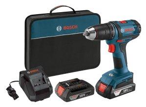 $79 包邮Bosch 18V 电螺丝刀 双锂电池套装 + 充电器 + 收纳包