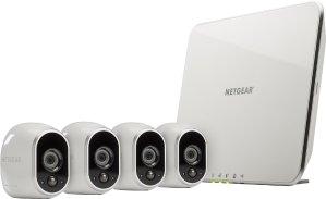 $299.99 (原价$499.99)NETGEAR Arlo 智能无线监控摄像头 (4个装)