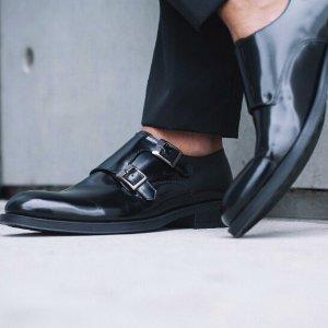 商务皮鞋低至$34Kenneth Cole 男士英伦风商务皮鞋 短靴等24小时闪购