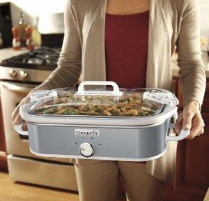 Crock-Pot 3.5-Quart Slow Cooker Stainless