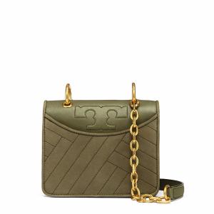 Tory Burch Alexa Suede Convertible Mini Shoulder Bag