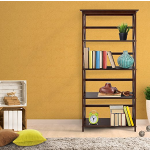 Casual Home 324-53 Montego 5-Tier Bookcase, Espresso