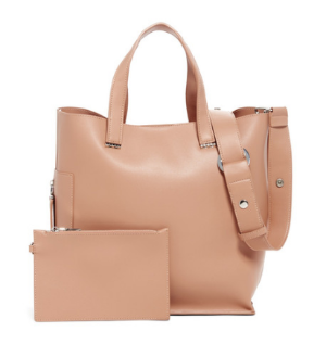 $39Urban Expressions Linette Vegan Leather Tote & Pouch