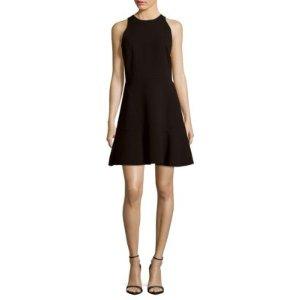 Theory Felicitina Ruffle Hem Dress