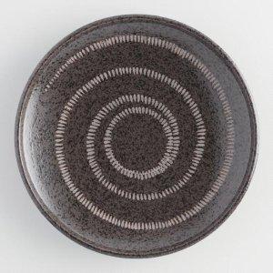 Black Zen Dinner Plates Set of 4