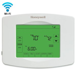 $69Honeywell Wi-Fi Programmable Touchscreen Thermostat and Free App