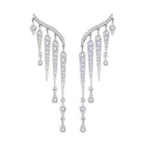 Flame Pierced Earrings - Jewelry - Swarovski Online Shop