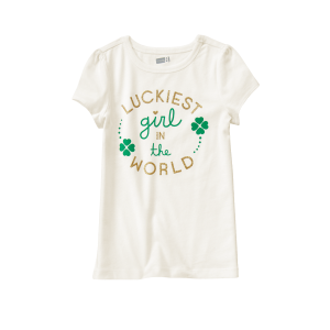 Luckiest Girl Tee