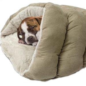 史低价 $19.99 (原价$43.49)Ethical Pets 超舒适宠物窝特卖 两色同价