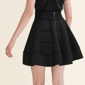 JUMP Mesh puffball skirt