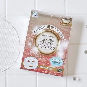 $5.22COTTON LABO Water Hydrogen Sheet Mask 3 sheets @Amazon Japan