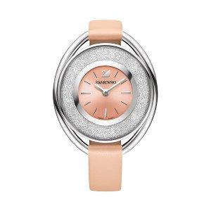 Crystalline Oval Light Rose Watch - OUTLET - Swarovski Online Shop