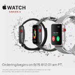 Order Apple Watch Series 3 and Get 3-mo Service + Activation