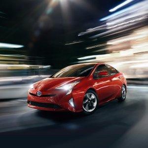 混动车型标杆2017款 Toyota Prius混合动力家用轿车
