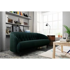 Tufted Memory Foam Sofa, Multiple Colors - Walmart.com