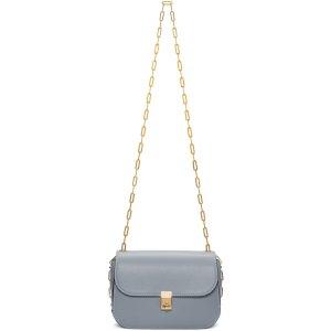 Valentino: Blue Chain Bag
