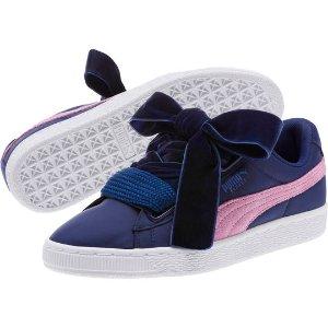 Basket Heart Nylon Women's Sneakers