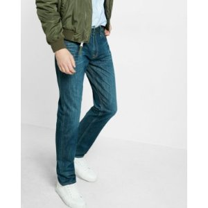 Classic Fit Tapered Leg Jeans   Express