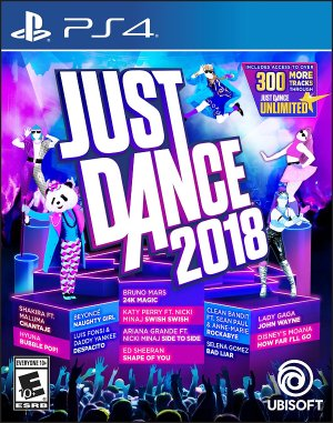 Today Only:$29Just Dance 2018 - PlayStation 4