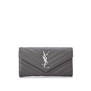 Saint Laurent Large Monogramme Flap Wallet