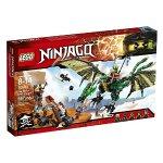 LEGO Ninjago 70593 The Green NRG Dragon Building Kit (567 Piece)