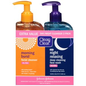 Clean & Clear Day/Night Value Pack, 8 Fl Oz, 2 Ct  by Clean & Clear