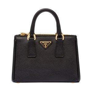 Prada Black Nero Safiano Handbag | zulily
