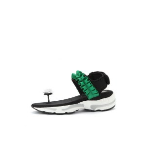 Cancan sandal (green)