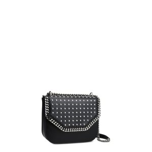 Black Studded Falabella Box Shoulder Bag - Stella Mccartney