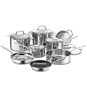 Rue La La — Cuisinart Professional Series 13pc Cookware Set