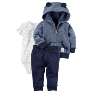 Carter's Infant Boys' Bodysuit, Jacket & Pants - Fox - Clothing - Baby Clothing - Baby Collections & Sets