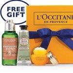 L'OCCITANE 店内礼盒免费领取