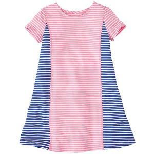 Girls Summer Swing Dress in Stretch Jersey | Sale $25 Dresses Girls
